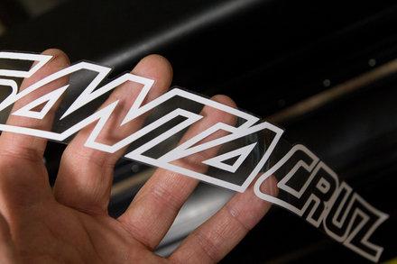 SantaCruz Bike Decals Sticker Set MTB DH Road Santa Cruz